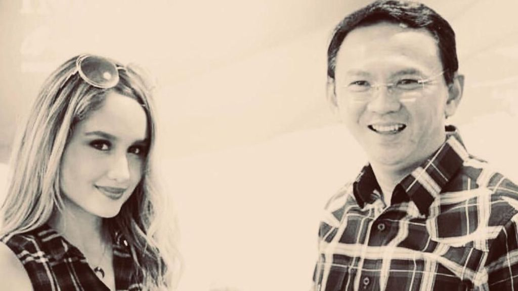 Sambut Ahok Bebas, Cinta Laura: I Will Call You BTP