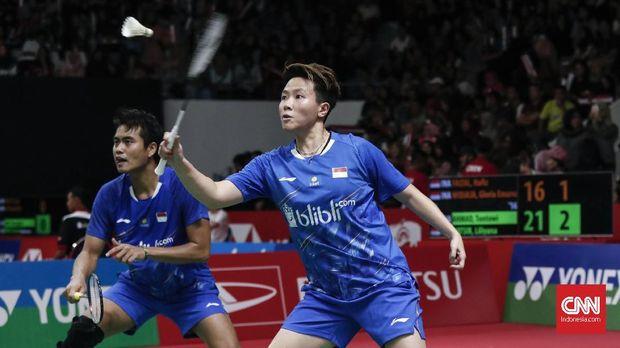 Penggemar bulutangkis masih bisa menyaksikan penampilan Tontowi Ahmad/Liliyana Natsir di Indonesia Masters.