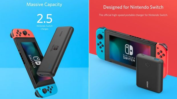 Anker Rilis Powerbank untuk Nintendo Switch
