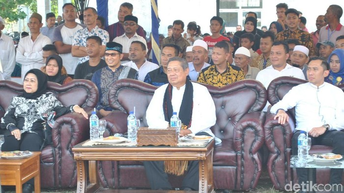 SBY (Datuk Haris Molana/detikcom)