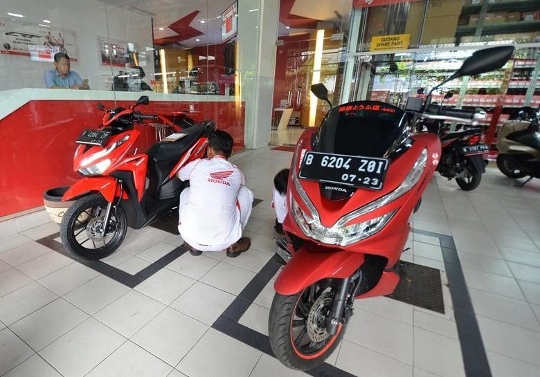 Sepeda motor. Foto: Istimewa/AHASS