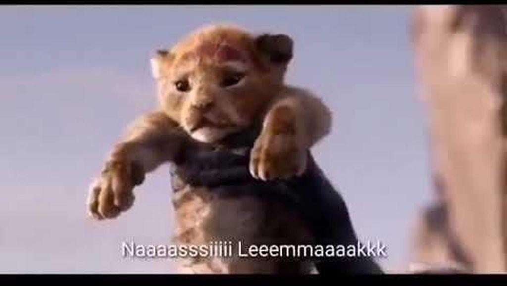 Kocak! Parodi Trailer The Lion King Pesan Nasi Lemak