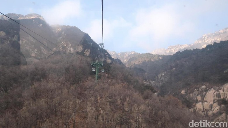 Pemandangan eksotis Taishan (Bonauli/detikTravel)