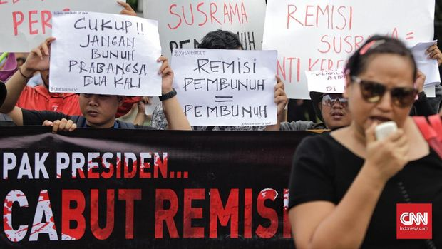Menkumham Tegaskan Tak Akan Tinjau Remisi Pembunuh Wartawan