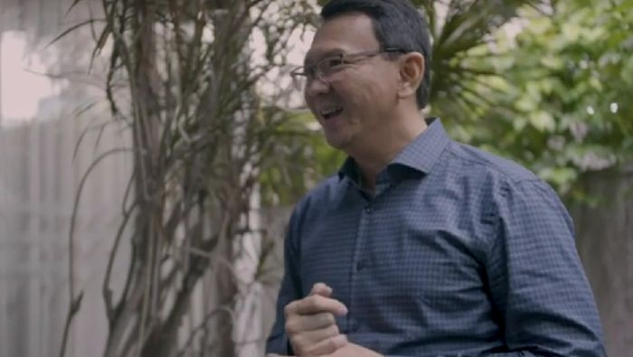 Basuki Tjahaja Purnama (BTP)/Foto: Ahok di rumah baru (Vlog Ahok)