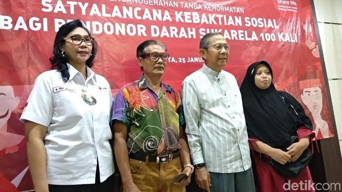 Donor darah 100 kali diberi penghargaan. Foto: Widiya Wiyanti/detikHealth
