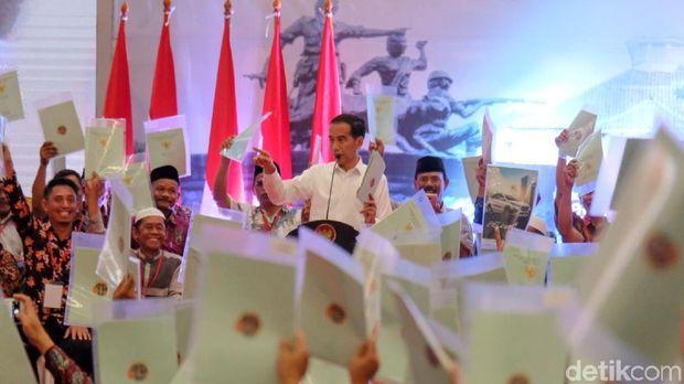 Presiden Jokowi di Bekasi