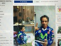 Tukang Servis HP Mirip Valentino Rossi Bikin Heboh Netizen