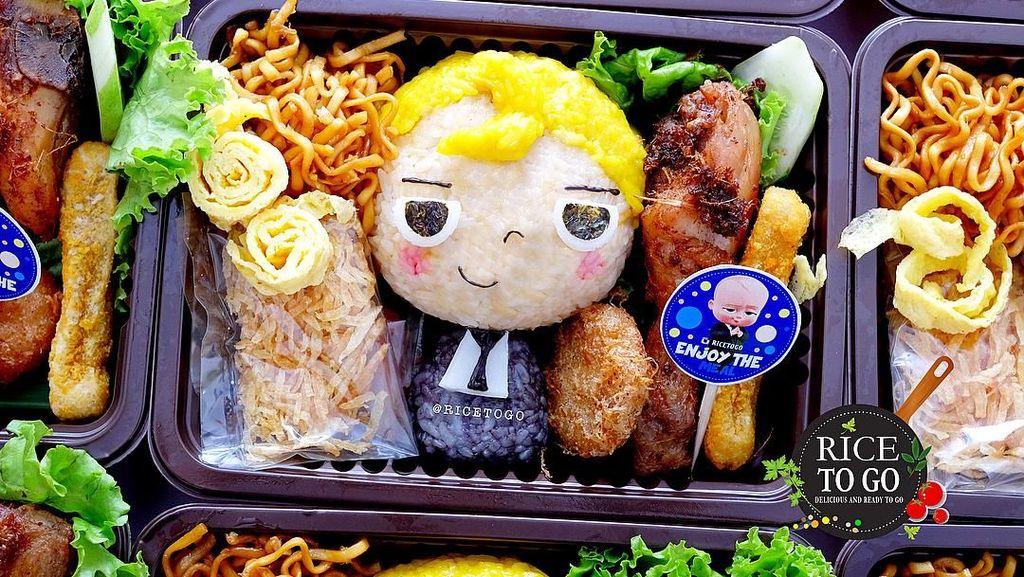 Berawal dari Iseng, Rice To Go Kini Dapat Order Ratusan Bento Anak Setiap Hari