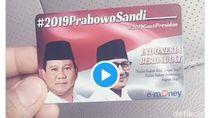 Beredar e-Money Prabowo-Sandiaga, TKN Jokowi: Melanggar Aturan!