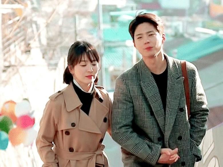 Park Bo Gum Sering Baper saat Syuting Encounter Bareng Song Hye Kyo