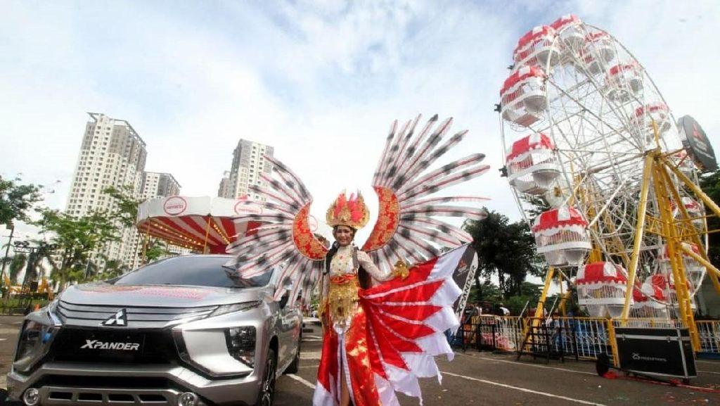 Kemeriahan Xpander Tons of Real Happiness di Tangerang