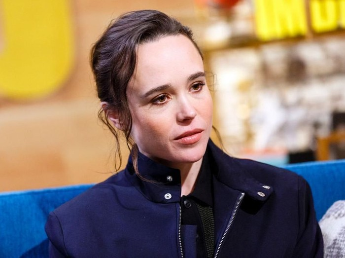 STUDIO CITY, CA - FEBRUARY 20:  Actress Ellen Page visits The IMDb Show on Feburary 20th 2018 in Studio City, California. The episode airs March 1st 2018.  (Photo by Rich Polk/Getty Images for IMDb)