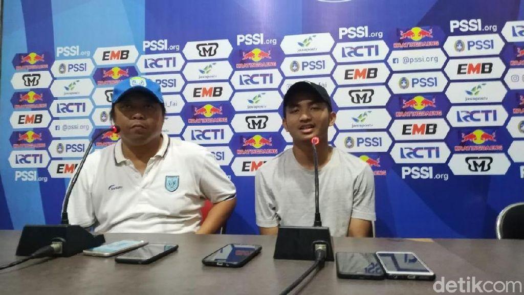 Persela Tekuk Persik 3-1 di Leg Pertama 32 Besar Piala Indonesia