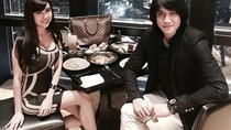 Momen Romantis Vicy Melanie Hangout dan Makan Bareng Kevin Aprilio