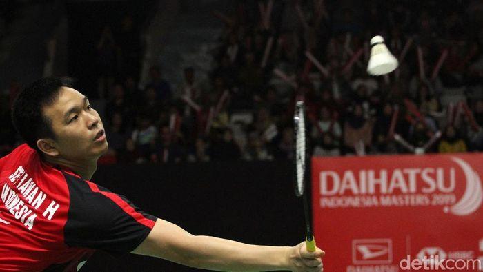 Hendra Setiawan dukung Indonesia jadi tuan rumah Olimpiade 2032 (Rifkianto Nugroho)