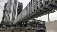 JPO Ratu Plaza di Sudirman, Jakarta Pusat