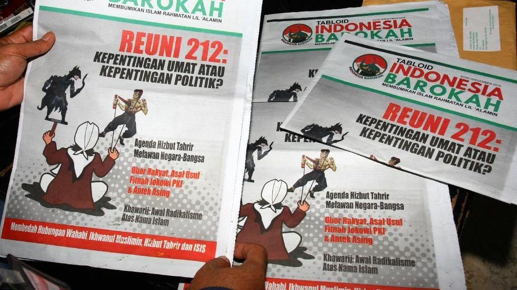 Jejak Pengiriman Tabloid Indonesia Barokah