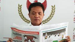 Sepakat dengan Maruf, Habiburokhman: Jangan Bohong soal Jagung-Karhutla