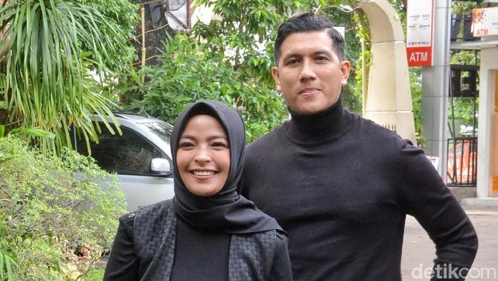 Tantri dan Arda Naff saat ditemui di kawasan Menteng.