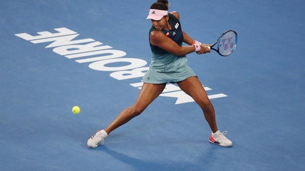 Naomi Osaka berhasil meraih juara Australia Terbuka 2019 usai mengalahkan Petra Kvitova. (