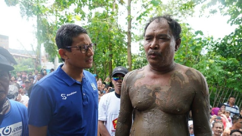Teka-teki Pria Berlumpur Pemicu Tuduhan Sandiwara Uno II