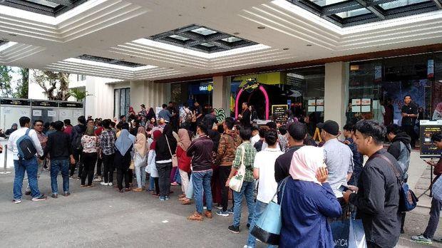 Milenial padati acara Creativepreneur corner di Kota Malang