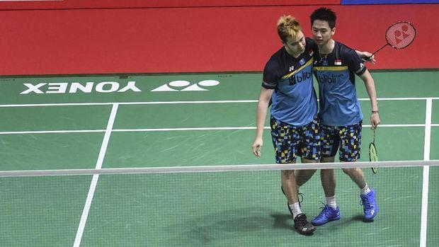 Kevin/Marcus merebut gelar kedua di 2019 setelah menjadi juara Indonesia Masters 2019.