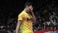 Di Semifinal, Jonatan Christie Tertunduk dan Minta Maaf