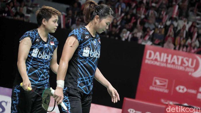 Greysia Polii/Apriyani Rahayu mencari pendamping ke Olimpiade 2020 Tokyo. (Pradita Utama/detikSport)