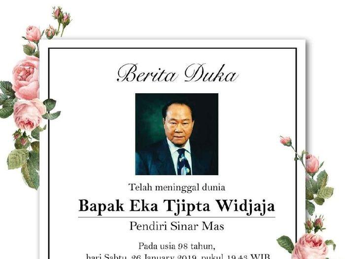 Foto: Dok. Istimewa/Gandi Sulistiyanto (Managing Director Sinar Mas Group)