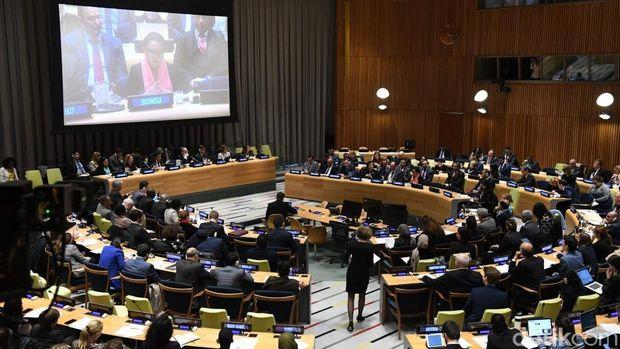 Di Forum DK PBB, Menlu Ingin Perempuan Jadi Agen Perdamaian Dunia