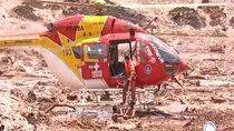 Dramatis! Detik-detik Evakuasi Korban Bendungan Jebol di Brasil
