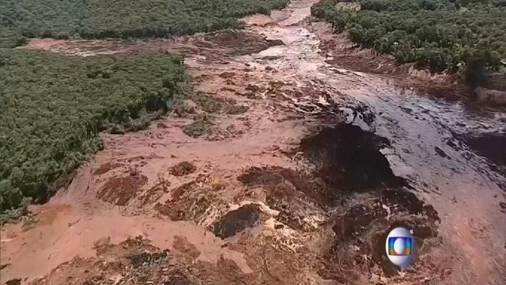 Korban Jiwa Bendungan Jebol di Brasil Menjadi 134 Orang, 199 Hilang