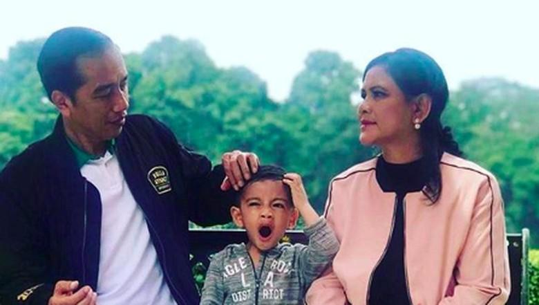 Jan Ethes dan Jokowi/Foto: Instagram