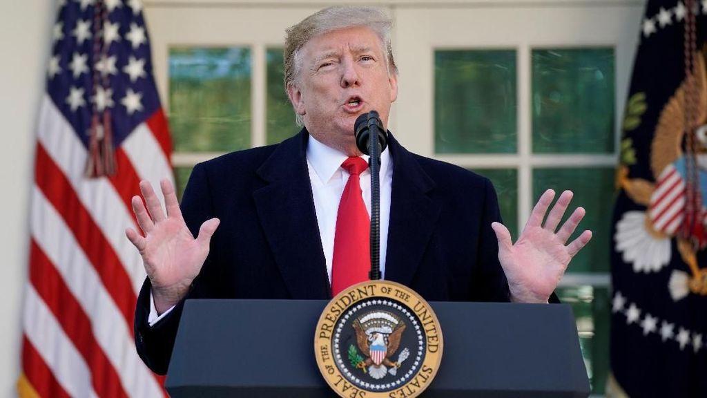 16 Negara Bagian AS Gugat Trump Terkait Kondisi Darurat Nasional