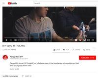 Hanya 24 Jam, Vlog Ahok Sedot 2 Juta Penonton