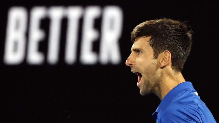 Novak Djokovic mengalahkan Rafael Nadal untuk memenangi Australia Terbuka 2019. Foto: Kim Kyung-Hoon/Reuters