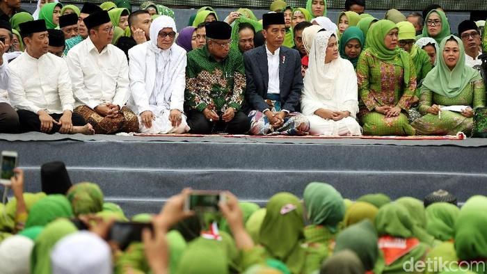 Harlah Ke-73 Muslimat NU (Rengga Sancaya/detikcom)