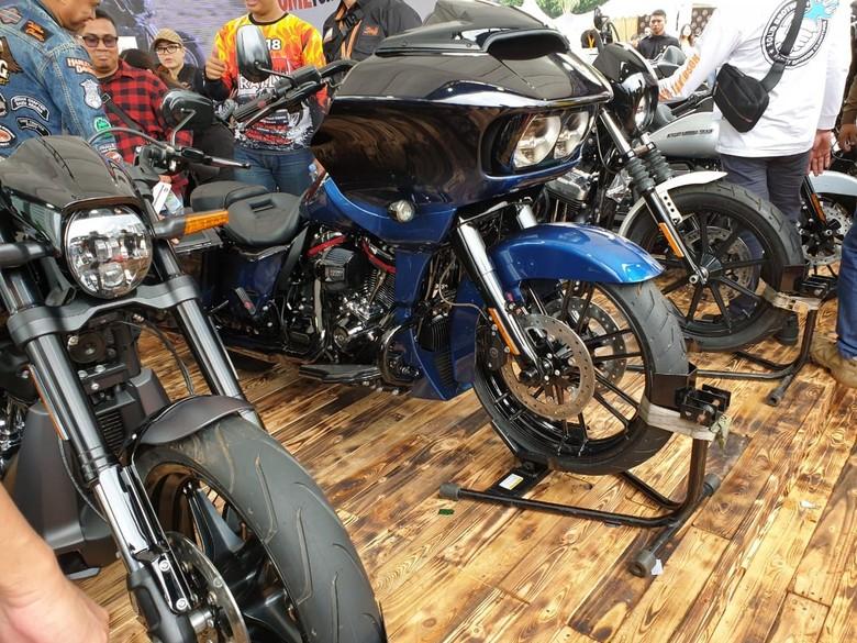 Ilusrasi Harley-Davidson Foto: Luthfi Anshori