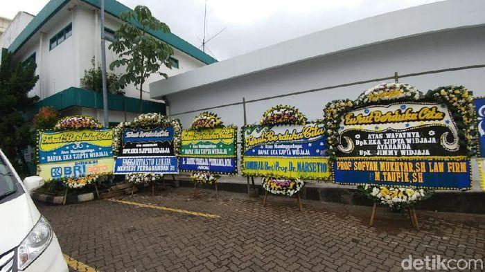 Foto: Suasana Rumah Duka meninggalnya Eka Tjipta Widjaja/Saifan Zaking - detikFinance