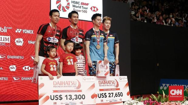Marcus/Kevin Juara Indonesia Masters 2020