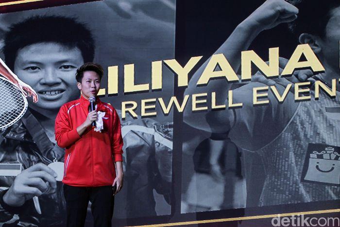Liliyana mengakhiri karier bulutangkis di final Indonesia Masters 2019.