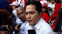 Tanggapi e-money Prabowo-Sandi, Erick Thohir Sebut Politik Uang
