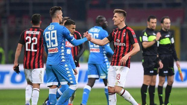 7 Fakta Menarik Hasil Imbang Milan dan Napoli