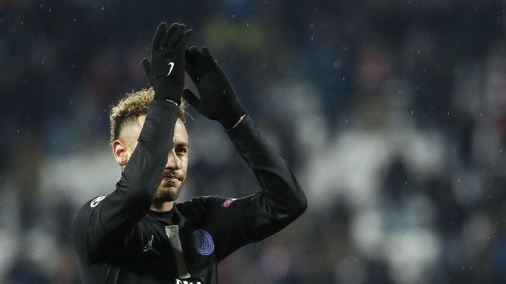 Jelang PSG VS Real Madrid, Hukuman Neymar di Liga Champions Dikurangi