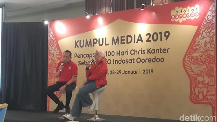 Suasana acara Indosat. Foto: detikINET/Virgina Maulita Putri