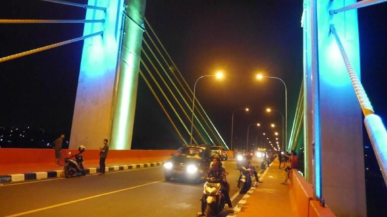 Foto: Jembatan Musi IV di Palembang (Kurnia/detikTravel)