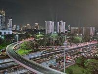 Suasana Malam Jakarta dalam Bidikan Smartphone