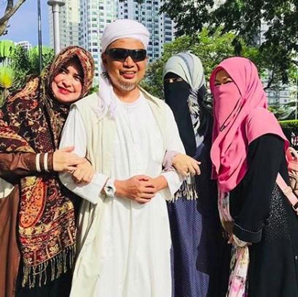 Kesetiaan 3 Istri Ustaz Arifin Ilham Jadi Pendamping Lawan Sakit